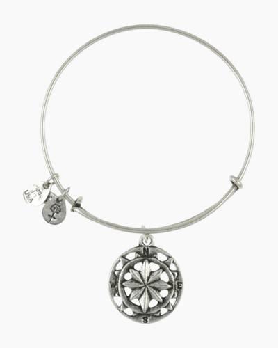 Compass Charm Bangle