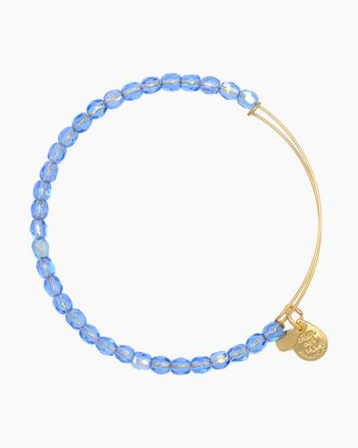 Sky Color Beaded Bangle