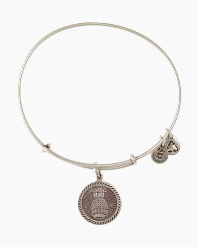 Welcoming Pineapple Charm Bangle