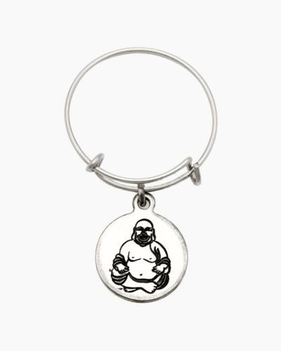 Happy Buddha Spiritual Imprint Expandable Wire Ring