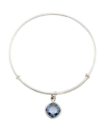 Denim Blue Intuition Charm Bangle