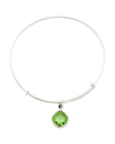 Fern Green Love Charm Bangle