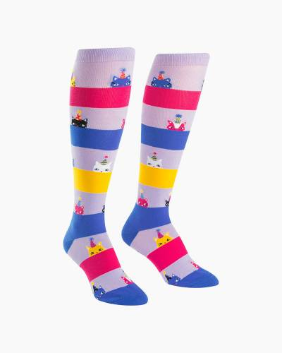 Women's Happy Purrday Socks