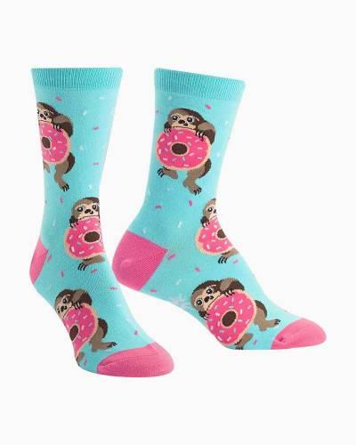 Snackin Sloth Women's Knee Socks