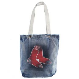 Little Earth Productions Red Sox Denim Vintage Shopper