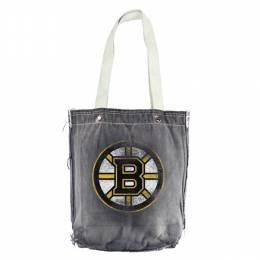 Little Earth Productions Boston Bruins Denim Vintage Shopper