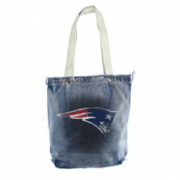 Little Earth Productions New England Patriots Denim Vintage Shopper