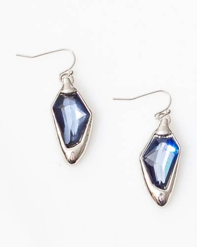 Exclusive Blue Crystal Earrings