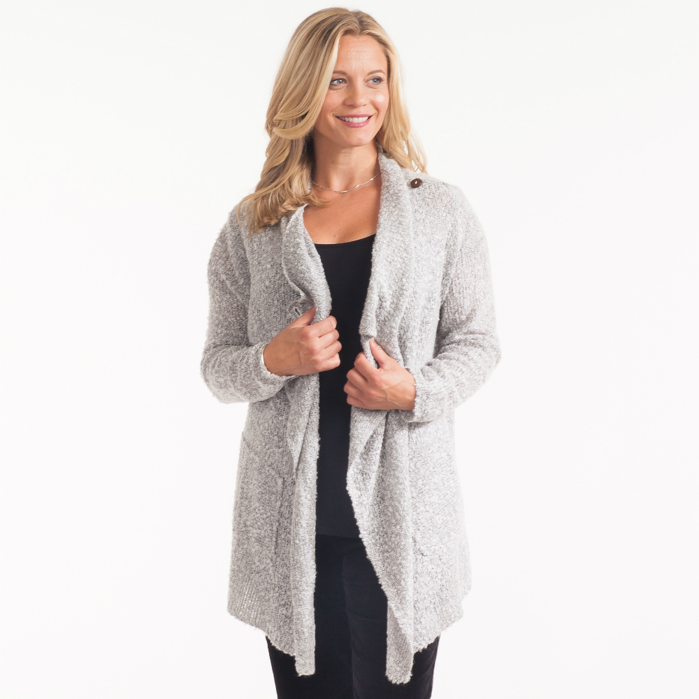 Lulu B Waterfall Cardigan