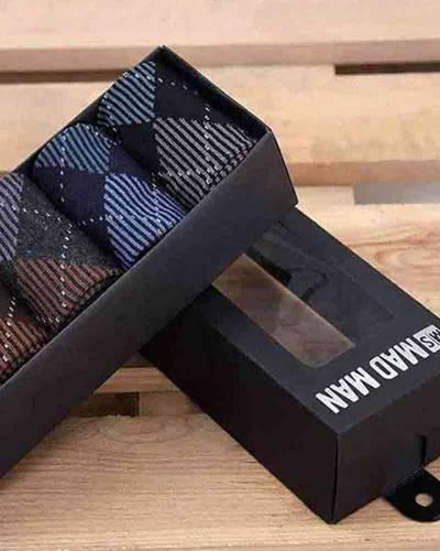 Men's Socks 5-Pack in Argyle