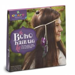 Ann Williams Craft-tastic Boho Hair Tie Kit