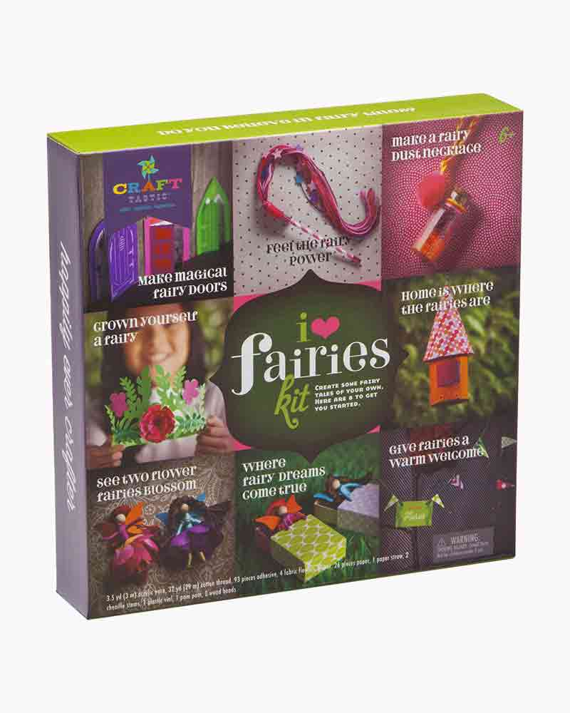 Ann Williams Group Craft-tastic I Love Fairies Craft Kit