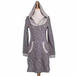 Neesha Heather Grey Hooded Tunic