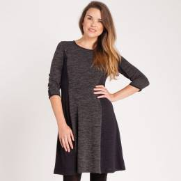 Neesha Knit Panel Dress
