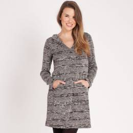Neesha Hooded Knit Dress