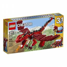 Lego LEGO Creator Red Creatures Dragon kit