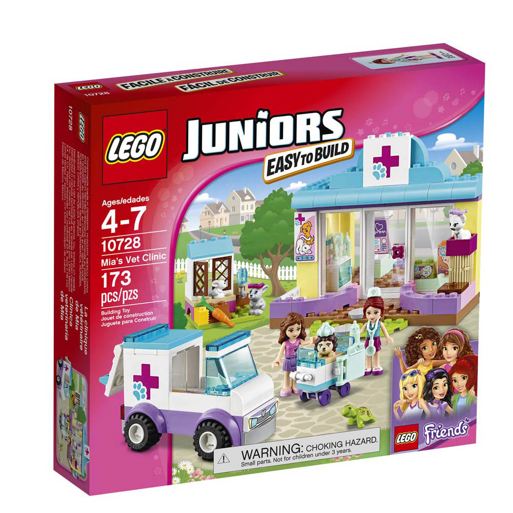 Lego Toys Lego Juniors Mias Vet Clinic The Paper Store