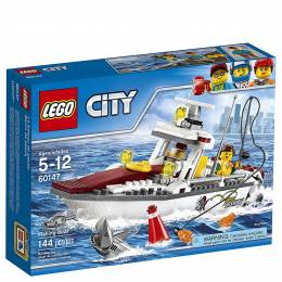 LEGO Toys LEGO City Fishing Boat