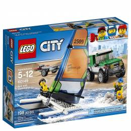 LEGO Toys LEGO City 4x4 with Catamaran