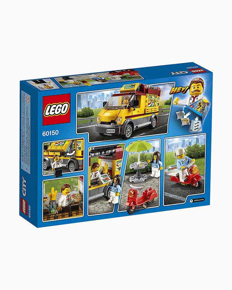 Lego Toys Lego City Pizza Van The Paper Store