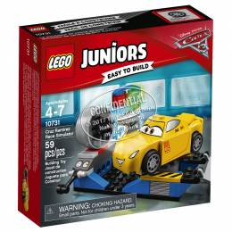 Lego LEGO Juniors Disney/Pixar Cars 3 Cruz Ramirez Race Simulator
