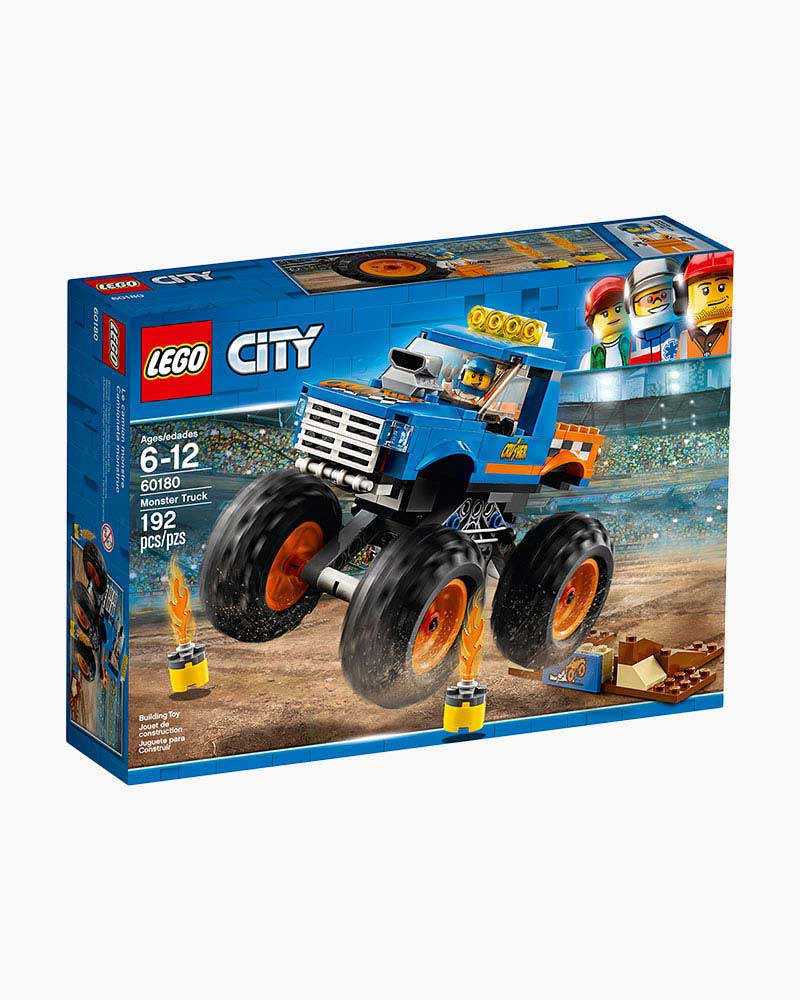 Lego Toys Lego City Monster Truck The Paper Store