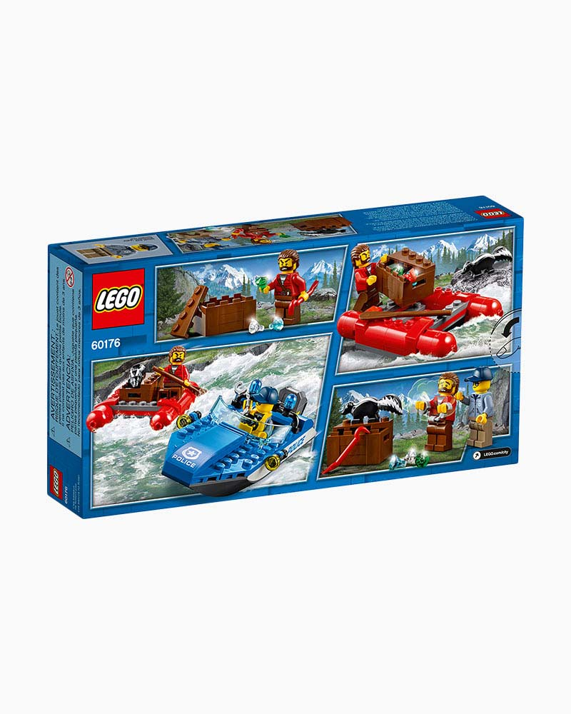 Lego Toys Lego City Wild River Escape The Paper Store