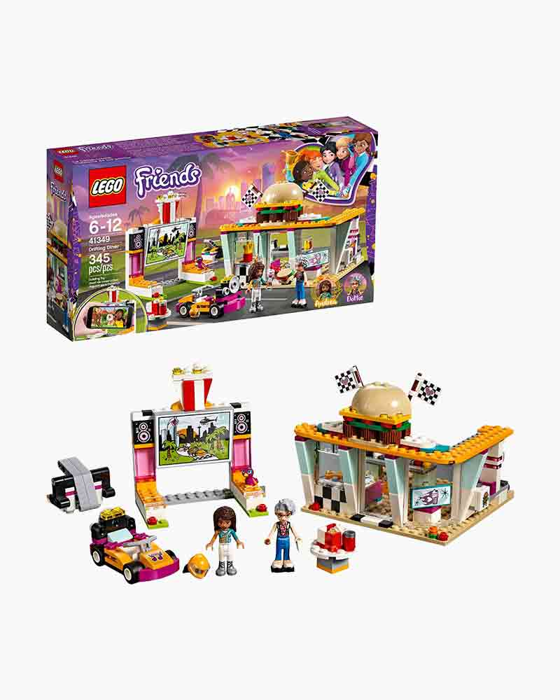 Lego Toys Lego Friends Drifting Diner The Paper Store