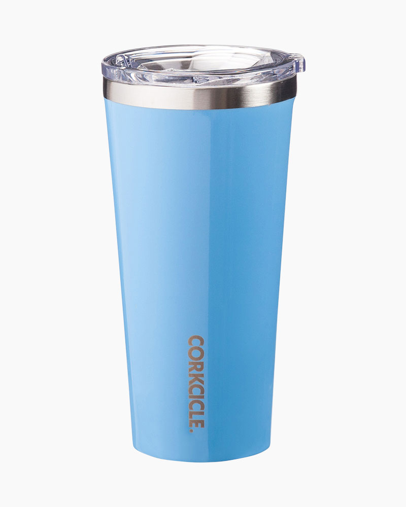 The Corkcicle Vinnebago Is A Wine Canteen That Can: Corkcicle 16 Oz. Corkcicle Tumbler In Gloss Blue Skies
