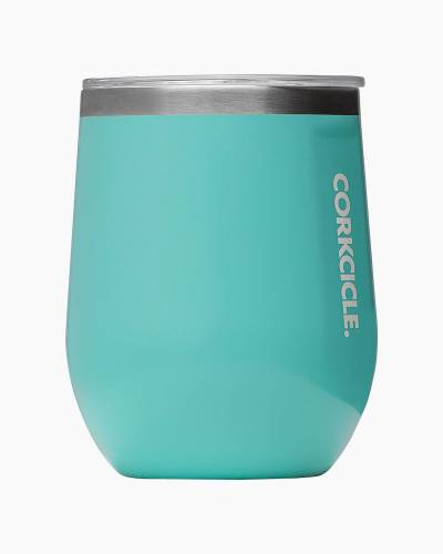 Stemless Wine Cup  in Turquoise