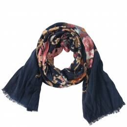 Contempo Floral Printed Scarf