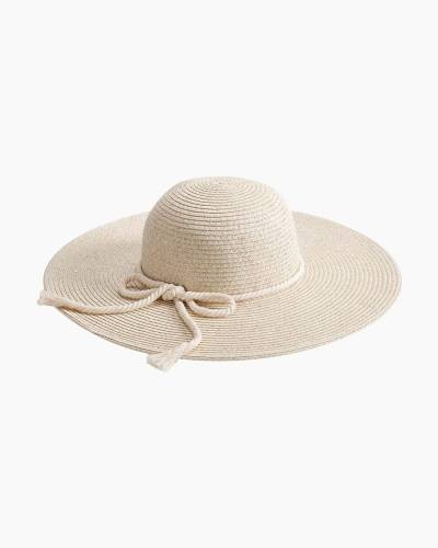 Wide Brim Hat in Ivory