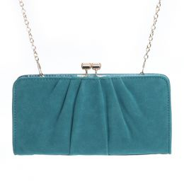 Miztique Pleated Clutch