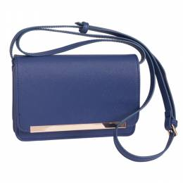 MMS Trading Gold Flap Crossbody Bag