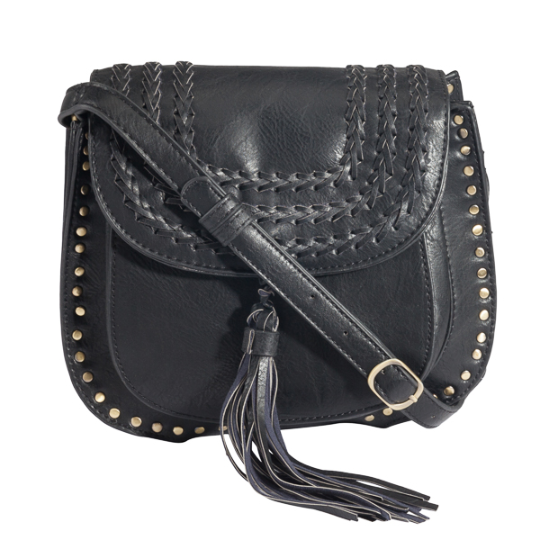 Antik Kraft Studded Saddle Bag