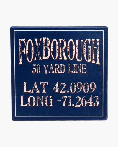 Foxborough 50 Yard Line Ceramic Coaster