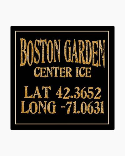 Boston Garden Center Ice Ceramic Coaster