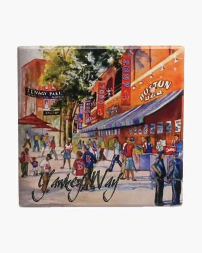 Yawkey Way Ceramic Coaster