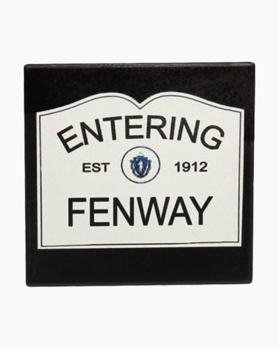 Entering Fenway Ceramic Coaster