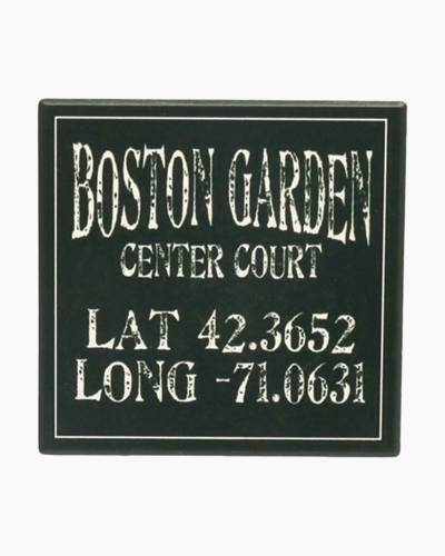 Boston Garden Ceramic Coaster