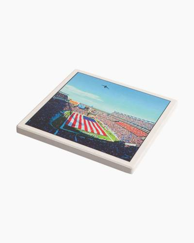 Gillette Stadium Ceramic Coaster