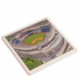 Paint the Town, Inc. Yankee Stadium Ceramic Coaster