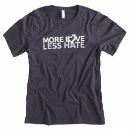 The Paper Store More Love Less Hate Men's Tee