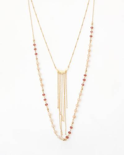 Exclusive Chain-Fringe Necklace