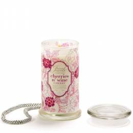Giftcraft Secret Jewels Cherry Jar Candle