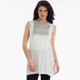 Giftcraft Embroidered V-Neck Tunic