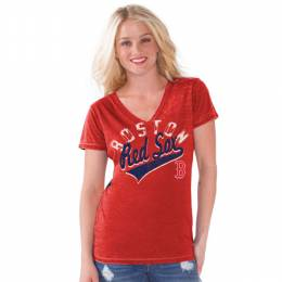 G-III Sports Boston Red Sox Women's Bases Loaded Tee