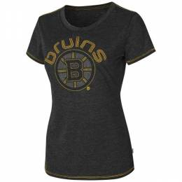 G-III Sports Women's Boston Bruins Friday Night Lights Tee