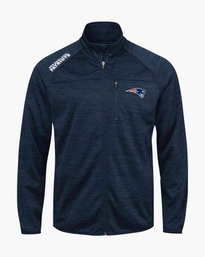 New England Patriots Men's Mindset Full Zip Jacket