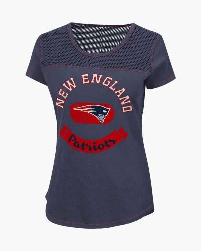 New England Patriots Women's Gridiron Tee